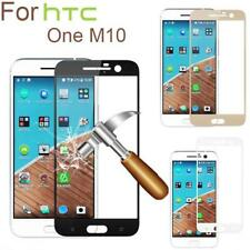 9H Full Cover Genuine Tempered Glass Screen Protector /Pet Film For HTC One M10