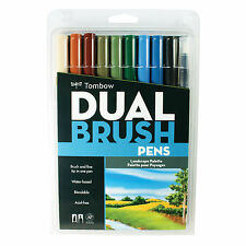 Tombow Dual End Brush Pen Sets