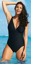 MIRACLESUIT SONATINA MIRACLE BLACK SWIMSUIT SUIT 14 16 18 SWIMMING COSTUME