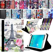 "FOLIO FOLDING LEATHER STAND COVER CASE For Various 7"" Allview Viva Models Tablet"