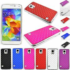 Luxury Crystal Bling Hard Skin Phone Case Cover For Samsung Galaxy S5 SV i9600