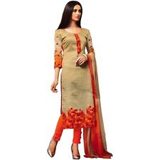 Designer Ethnic Printed Cotton Salwar Kameez Suit Indian Dress-KK-Needhi-404