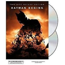 Batman Begins, Two Disc Deluxe Edition, Hologram Cover  DVD