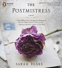 "SARAH BLAKE - ""THE POSTMISTRESS"" - UNABRIDGED CD AUDIOBOOK - LIKE NEW"