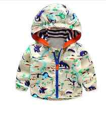 Toddler Baby Boys/Girls outerwear Hooded coats Cartoon Jacket Kids Clothes