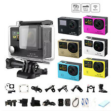 Dual Screen Slim HD 1080P Sports DV DVR Wide Angle Waterproof WIFI Action Camera