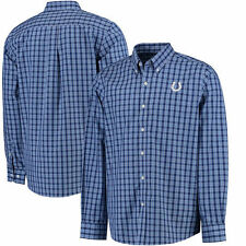 Cutter & Buck Indianapolis Colts Long Sleeve Button Down Shirt - NFL