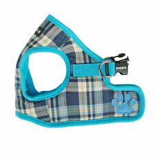 Dog Puppy Harness Soft Vest- Puppia - Spring - Blue - Choose Size