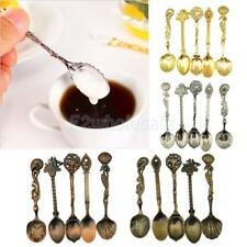 5Pcs Small Desert Coffee Set Bar Kitchen Tea Spoon Royal Style