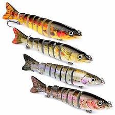 Lot Pike Fishing Lure Bait Swimbait Bass Baits Crankbaits Hooks Tackles Poppers