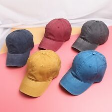 Hot Sale Retro Baseball Hats Casual Solid Color Unisex Fashion Hip Hop Caps