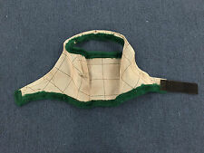 Farnham Supermask with Green Trim - No Ears - Arabian Size