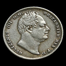 1831 William IV Milled Silver Sixpence