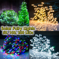 50 100 200 400 LED Outdoor Solar Lights Garden Lights Deck Lights Fairy String