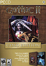 Gothic II: Gold Edition (PC, 2005) NEW SEALED