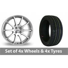 "4 x 15"" Dezent Silver Alloy Wheel Rims and Tyres -  195/50/15"