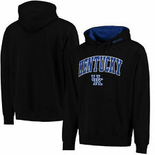 Kentucky Wildcats Stadium Athletic Arch & Logo Pullover Hoodie - Black - College