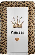 Leopard Print Changing Mat in VARIOUS COLOURS - Brand New - MADE IN THE UK