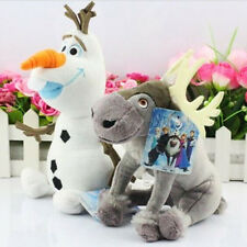 FREE P&P Movie Figure Olaf Snowman Sven Soft Plush Doll Kid Toy Birthday Gift AU