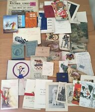 A LARGE COLLECTION OF MIXED EPHEMERA 1920s- 1950s