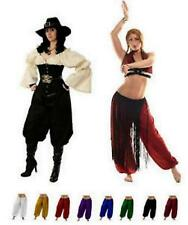 RENAISSANCE DRESS-UP BELLY DANCE PIRATE COSTUME TRIBAL GYPSY GENIE HAREM PANTS