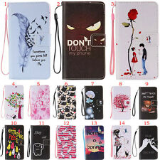 Luxury Strap Wallet Magnetic Flip Leather Case Cover for iPhone Samsung Huawei