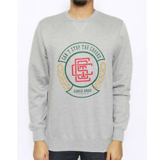 Crooks & Castles The Wreather Crewneck Sweatshirt in Heather Grey Sz L NWT CRKS