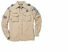 WOMAN'S BOY SCOUT CONVERTIBLE LONG SHORT SLEEVE UNIFORM SHIRT 46 48 50 52 54 56