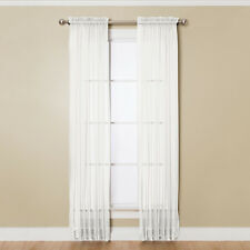 Miller Curtains Angelica Polyester 108-inch Rod Pocket Sheer Panel