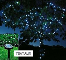 TEKTRUM 82 FT-LONG 150 LED Two-in-One Solar String Fairy Lights Outdoor