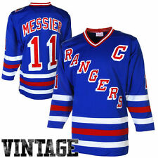 Mark Messier Mitchell & Ness New York Rangers Hockey Jersey - NHL