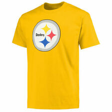 Pittsburgh Steelers Pro Line Primary Logo T-Shirt - Gold - NFL