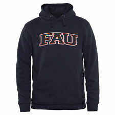 FAU Owls Arch Name Pullover Hoodie - Navy - College