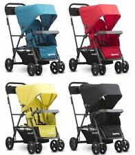 Joovy Caboose Graphite Ultralight Double Stand On Tandem Stroller 4 Color Choice