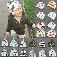 New Toddler Newborn Infant Baby Girls Boys Pointy Tied angle Kids hat Cap US