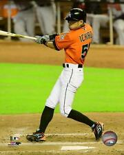 Ichiro Suzuki Miami Marlins 2015 MLB Action Photo SA100 (Select Size)