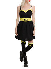 NEW DC Comics Batman LOGO Caped Crusader Elevated Dress Cosplay Costume JRS S