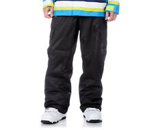 Sessions Zoom Pants Mens Snowboard Ski Cargo Waterproof Black L XL