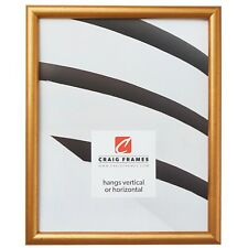 Craig Frames Dakota, Bullnose, Antique Gold Wood Picture Frame