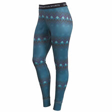 EMS Women's Techwick Printed Lightweight Baselayer Tights
