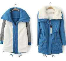 Winter Cotton Parka Down Jacket Reversible Wear Comfort Casual Womens