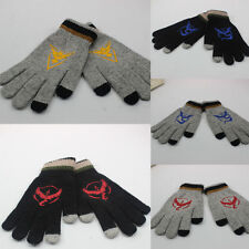 2 Colors Winter Fashion Mechanic Work Touch Telefingers Screen Cotton Warm Glove