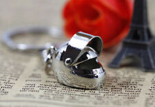 1pcs Creative Motorcycle Bicycle Helmet Key Chain Ring Keychain Keyring Key Fob