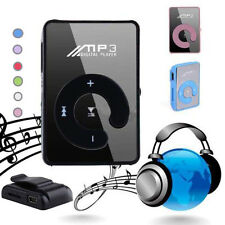 Mp3 Player Digital Music USB With Mini Clip Support Up to 8GB Micro SD TF Card