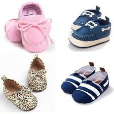 0-18M Baby Boy Girl Crib Loafers Toddler Infant Soft Sole Shoes Holoween Gifts