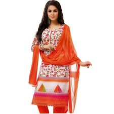 Readymade Elegant Embroidery Cotton Salwar Kameez Suit Indian-Alecia-2122-b