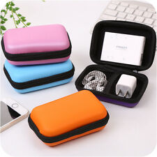 Earphone Box Bag Carrying Multi-function Pouch Travel Storage Coin bag Nice