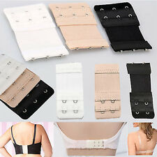 3X Women 2/3 Hook Bra Extender Soft Bra Extension Strap Underwear 3 color hot