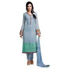 Designer Georgette Embroidered Salwar Kameez Suit Indian Dress-Sybella-S-56