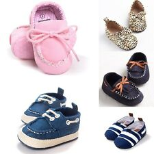 0-18M Baby Toddler Infant Soft Sole Shoes Boy Girl Crib Casual Loafers Gifts